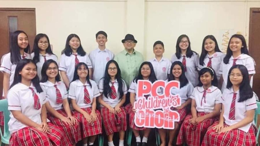 PCC Children's Choir 2019