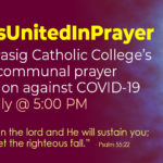 PCCians United in Prayer